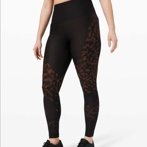 BNWT lululemon Mapped Out tight